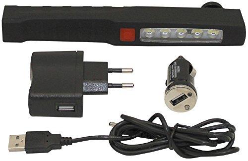 Lampe-torche à foxout Door, magnétique, clip, 2 Fonctions, rechargeable