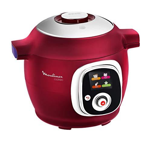 Moulinex ce701500Intelligent Cookeo–Multicooker con 100ricette rosso