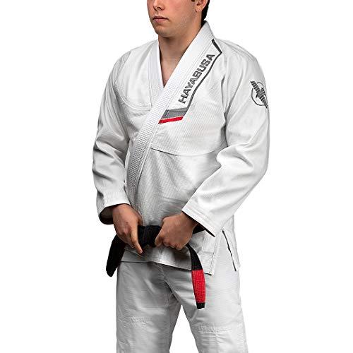 Hayabusa Ultra-Lightweight Pearlweave Jiu Jitsu Gi - White, A4