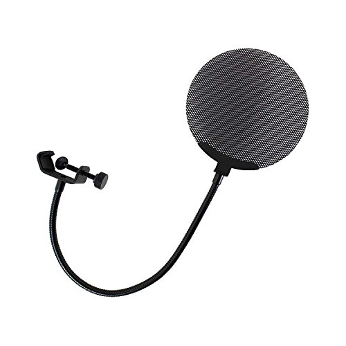 Dicon Audio ポップガード DCP-2 金属製 丸型 ブラック