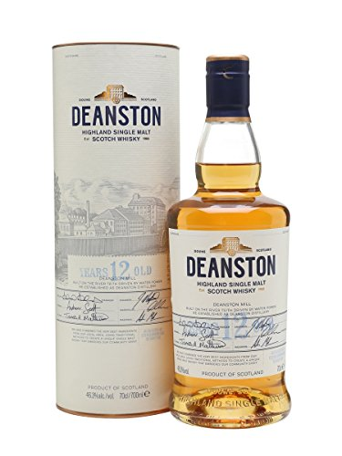Deanston 12 Years Old Un-Chill Filtered + GB 46,3% Vol. 0,7 l