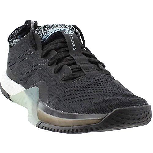 adidas W Crazy Train Elite Black/Black/Grey X-Trainer Shoes 9