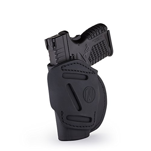 1791 GUNLEATHER 4-Way XDS Holster - OWB and IWB CCW Holster - Right...