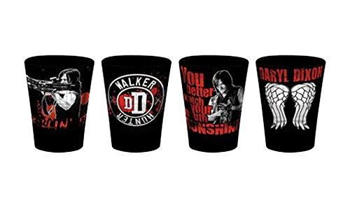 The Walking Dead Set de Vasos Chupito Premium Daryl Dixon