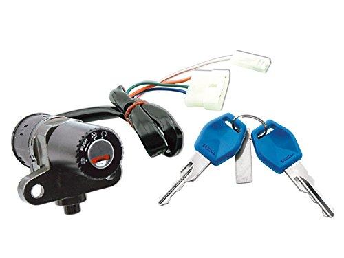 Cerradura de encendido para Aprilia RS 50RX 50, Derbi GPR Senda 50, Gilera SMT RCR
