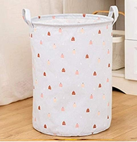 Sierra Nakalara – Cesta plegable para ropa sucia – Caja para juguetes o cajas para guardarropa (Blue-A Nobody)
