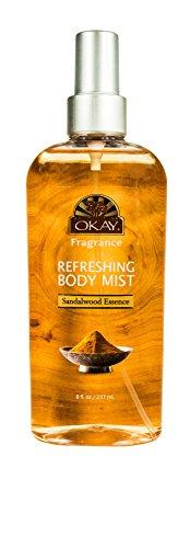 Refreshing Body Mist Sandalwood Essence Leaves You...