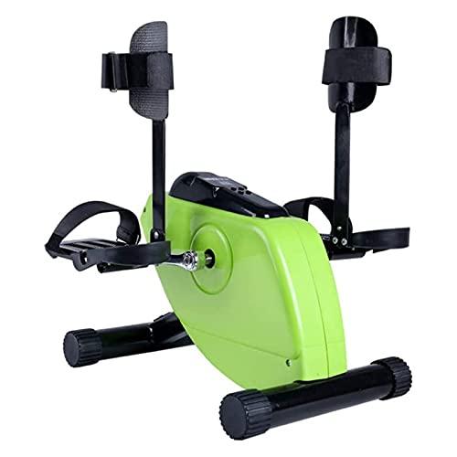XGYUII Mini Bicicleta Estática con Monitor LCD De Control Remoto, Bicicleta De Ejercicios Portátil para Recuperación De Brazo, Pierna, Rodilla, para Personas Mayores/Discapacitados/Posoperatorio