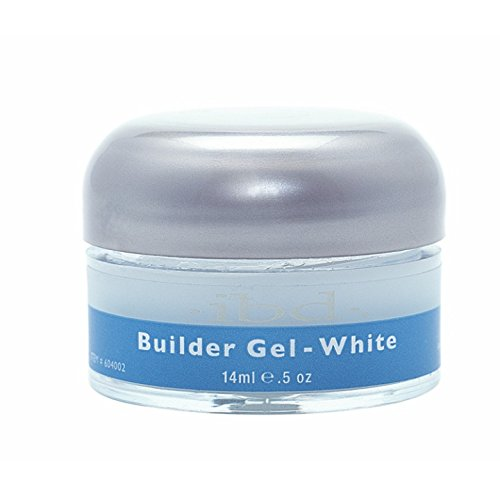 IBD Builder Gel Vernis à Ongles Traitement White 14g