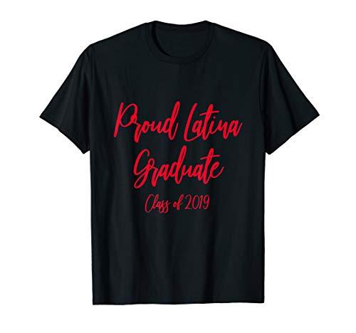Klasse von Abschluss-T - Shirt 2019 für Latinas T-Shirt