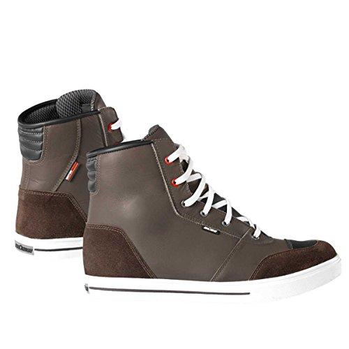 Büse B51 - Zapatillas impermeables para moto, color marrón,...
