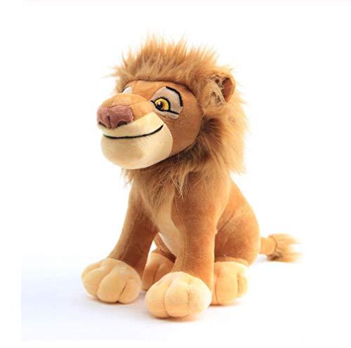 Yzhome Anime Löwenkönig Serie Plüschtier Simba Vater Mufasa Puppe 28Cm, Niedlich Und Weich Kinder