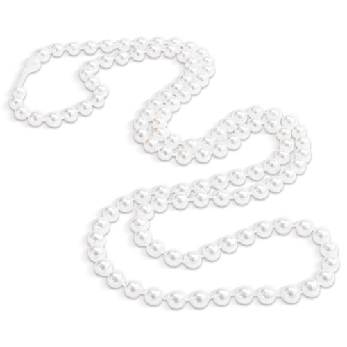 Faux-Pearl Necklaces Party Accessory (8 Necklaces per Order)