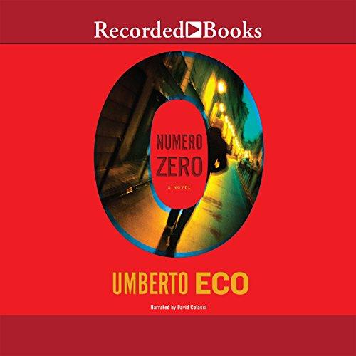 Numero Zero audiobook cover art