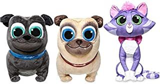 Disney Store Bingo Rolly and Hissy Plush 8 1/2 - 12
