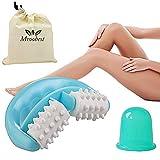 Roller Minceur, Massage brosse, Anti Cellulite du Corps Brosse, Anti peau d'orange Masseur Ventouse,...