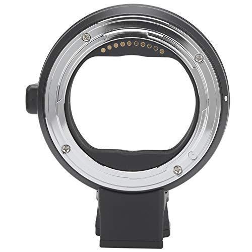 Sxhlseller Anillo Adaptador Commlite CM-EF-L, Enfoque automático y antivibración de la Lente, Ajusta automáticamente la Apertura, para la cámara Sigma/Leica con Montura L
