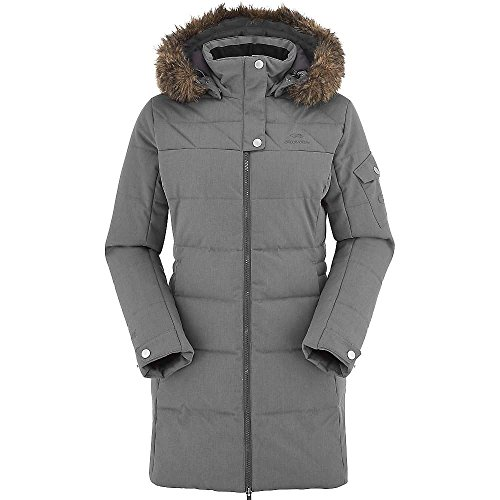 Eider Odyssey Coat Daunenjacke/Parka, warm, Damen 44 Stahlgrau