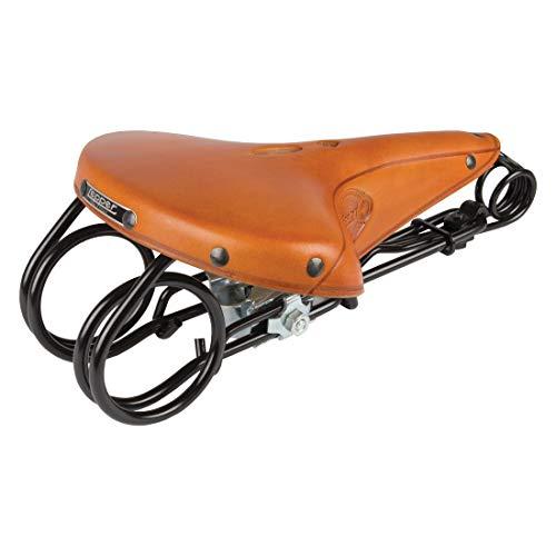 Lepper L 85 Hammock Kern Leder Fahrrad Sattel Retro Vintage Komfort gefedert, L85 Hammock, Farbe honig