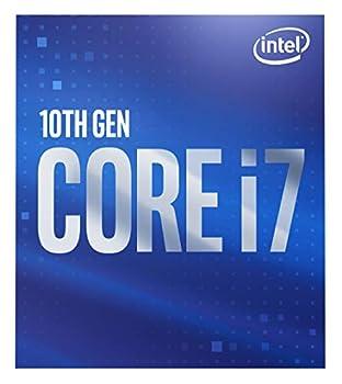 Intel Core i7-10700 Desktop Processor 8 Cores up to 4.8 GHz LGA 1200  Intel 400 Series Chipset  65W BX8070110700