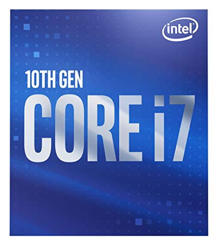 Intel Core i7-10700 (base 2.90 GHz, attacco LGA1200, 65 Watt) Box