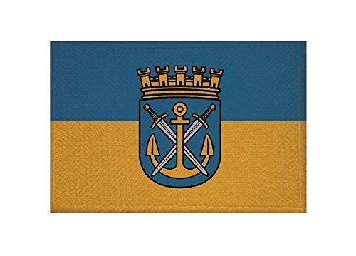 U24 Aufnäher Solingen Fahne Flagge Aufbügler Patch 9 x 6 cm