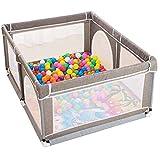 Childens Laufstall, tragbarer zusammengebauter Sicherheits-Leichtbau-Laufstall für Kinder mit...