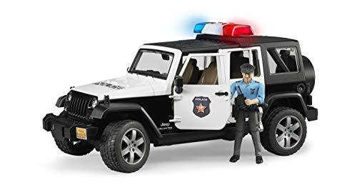 Bruder - Jeep Wrangler con Sirena