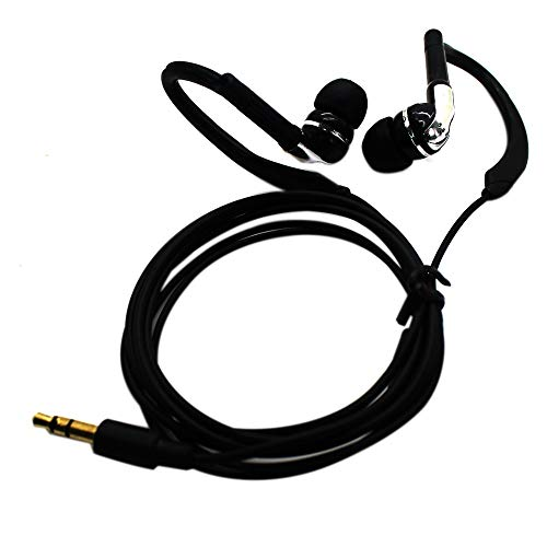 LILIERS 3.5mm SMZ 4773 in-Ear Earphone Headphones Best Bass Headset Earbud for Cell Phone MP3 MP4 Outdoor Sport Black
