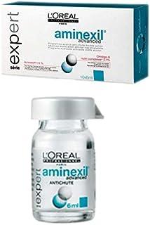 LOréal Professionnel Expert - Aminexil Advanced antichute - Tratamiento avanzado anticaída con doble acción - 10 doses de...