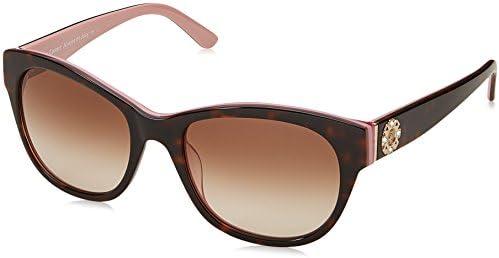 Juicy Couture Women s JU587 s Square Sunglasses Havana Pink 53 mm product image