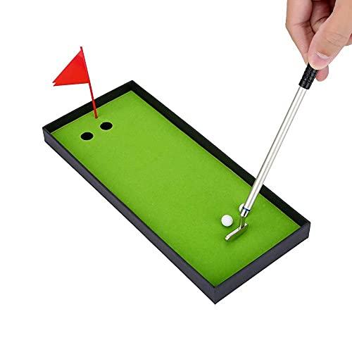 MAGT Stift-Set 3PCS Mini Golfschläger Kugelschreiber-Set Einzigartiger Stil Golf-Kugelschreiber-Set Mit Kugelschreiber-Flaggen-Briefpapierdekorationen