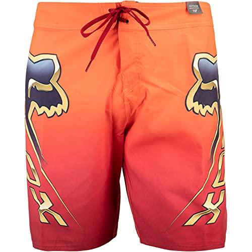 Fox Cntro 19'' Boardshorts Herren (34, orange)