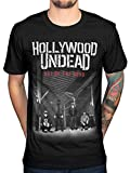 Hollywood Undead Day of The Dead T-Shirt (Medium) Black