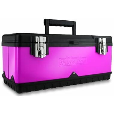 The Original Pink Box PB20MTB 20-Inch Steel Tool Box, Pink