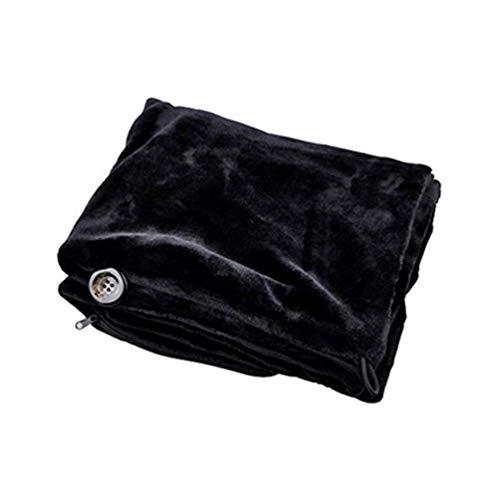 USB erhitzte Schal weichen warmen Winter elektrische Heizdecken Nacken- und Schulterpolster (Color : B)