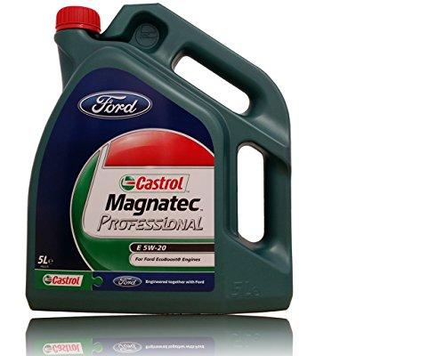 Ford Motoröl 5W20, Marke EcoBoost-Magnatec-Öl, Inhalt 5 l, Teilenummer 1009373.