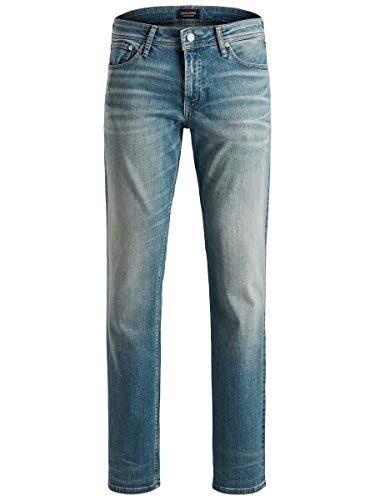 Jack & Jones NOS Herren Straight Jeans JJICLARK JJORIGINAL JJ 146 STS, Blau (Blue Denim), W36/L32 (Herstellergröße: 36)