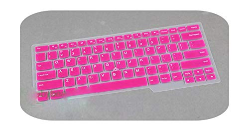 Keyboard Cover Skin Protector Silicone 14'' For Lenovo Thinkpad T430 L430 W530 T430I T430S X230I T530 X230T X230 L530-rose-