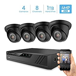 Best Outdoor Security Cameras 2020.The 10 Best 4k Security Camera System Reviews For 2019