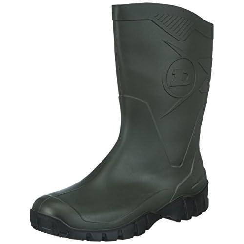 Dunlop Protective Footwear Dunlop Dee, Stivali Antinfortunistici Unisex Adulto, Verde, 41 EU