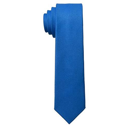MASADA Corbata para Hombre elaborada a mano y con gran esmero 6 cm de ancho - Azul