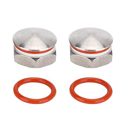 Sutinna Wasserkocherstecker, Homebrew-Stecker, langlebig, klein und auslaufsicher für Zylinderlaufventil-Zylinderstopper