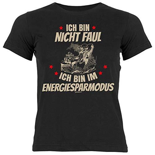 Mädchen-Shirt Bekleidung Kinder Rubrik lustige Sprüche: Ich Bin Nicht faul Ich Bin im Energiesparmodus