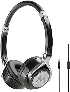 Fone de Ouvido Pulse 2 com Microfone, Motorola, Sh005, Preto, Único