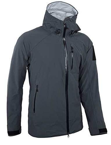 Tasmanian Tiger Herren TT Dakota Rain M's Jacket MKII Regenjacke, Darkest Grey, L
