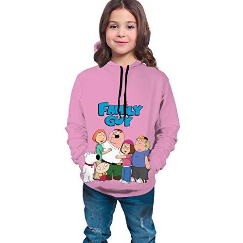 fghjfdjfg Family Guy V1 Brian Peter Meg Griffin Tv Series Teen Sweatshirt Teen Hoodie Mädchen Hoodies Langes Shirt Für Teen Hooded Mantel Mit Tasche(XL(18-20))