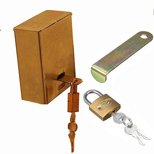 WEDSGTV Faucet Lock Externe Kraan Locking Systeem Eenvoudig te installeren Bespaart Water Voorkomt Gebruik En Vandalisme Geïsoleerde Tuinslang Lock En Cover