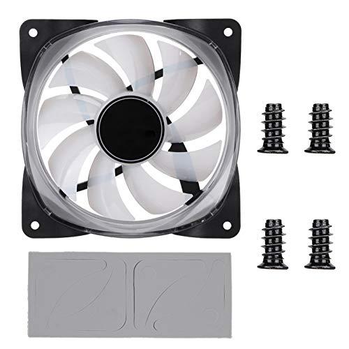 Mothinessto Mini Ventilador de refrigeración eficiente 12V Ventilador de refrigeración Ventilador de refrigeración DC12V Ventilador de refrigeración para Escritorio para computadora