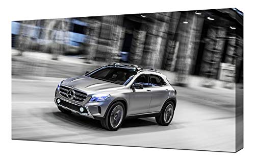 Mercedes-Benz GLA-Concept-V4-1080 - Lienzo decorativo